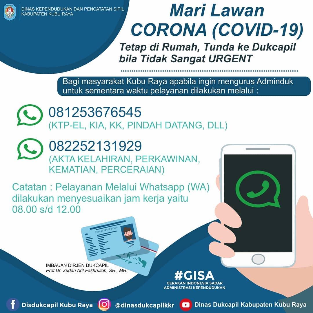 Layanan Online - Dukcapil Kabupaten Kubu Raya
